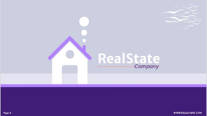 Immobilienpräsentationsthema für Google Slides