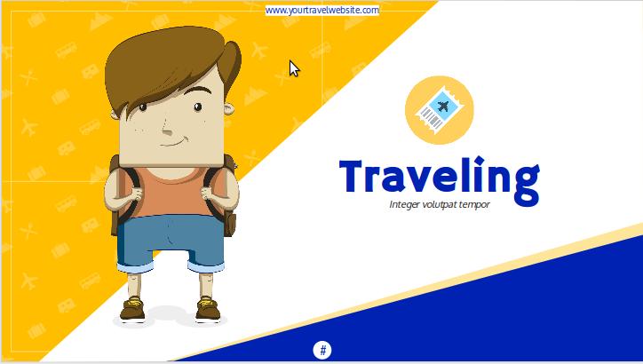 Reisen Präsentationsthema für Google Slides